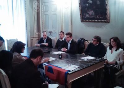 Conferenza stampa #chiedoasilo