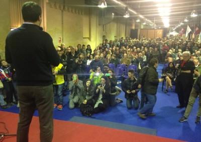Con Salvini a Carmagnola