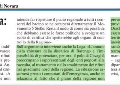 Corriere di Novara, 20.11.2017