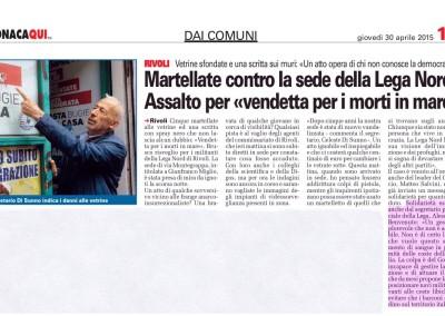 Torino CronacaQui, 30.04.2015
