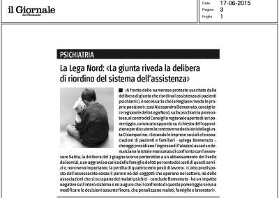 Il Giornale del Piemonte, 17.06.2015