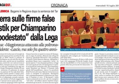 Torino CronacaQui, 15.07.2015