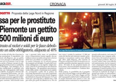 Torino CronacaQui, 30.07.2015