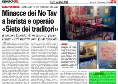 Torino CronacaQui, 23.10.2015