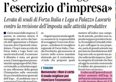 Il Giornale del Piemonte, 03.03.2016