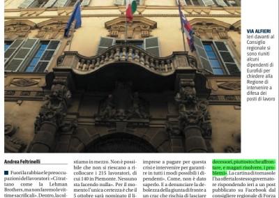 Il Giornale del Piemonte, 21.09.2016