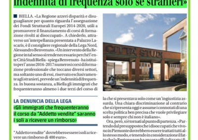 Il Giornale del Piemonte e della Liguria, 22.09.2016
