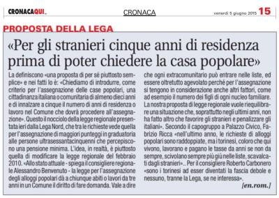 Torino Cronacaqui, 05.06.2015