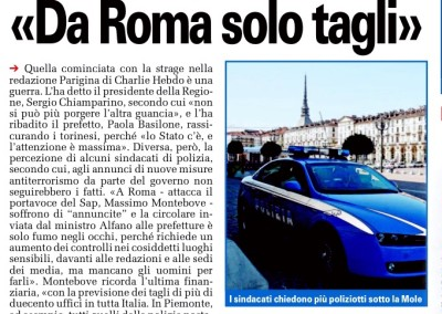 Torino CronacaQui, 10.01.2015