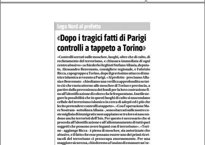 Il Giornale del Piemonte, 10.01.2015