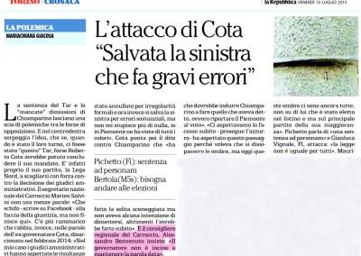 Repubblica, 10.07.2015