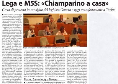 Corriere di Novara, 16.07.2015