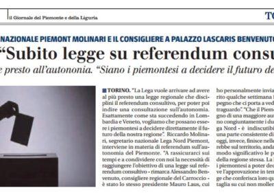 Il Giornale del Piemonte e della Liguria, 19.05.2017