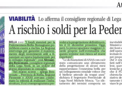 La Nuova Provincia di Biella, 18.10.2017