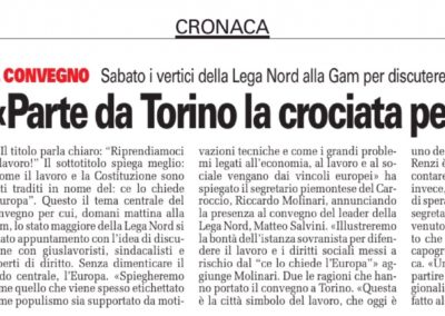 Torino CronacaQui, 07.04.2017