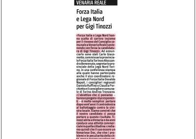 Il Giornale del Piemonte, 10.03.2015