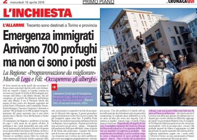 Torino Cronacaqui, 15.04.2015